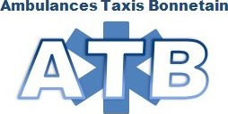 logo ATB ambulance taxi bonnetain